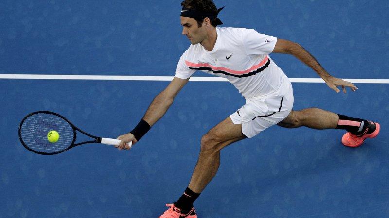 Open d'Australie: Roger Federer a entamé sa campagne australienne de façon optimale avec une victoire en trois sets