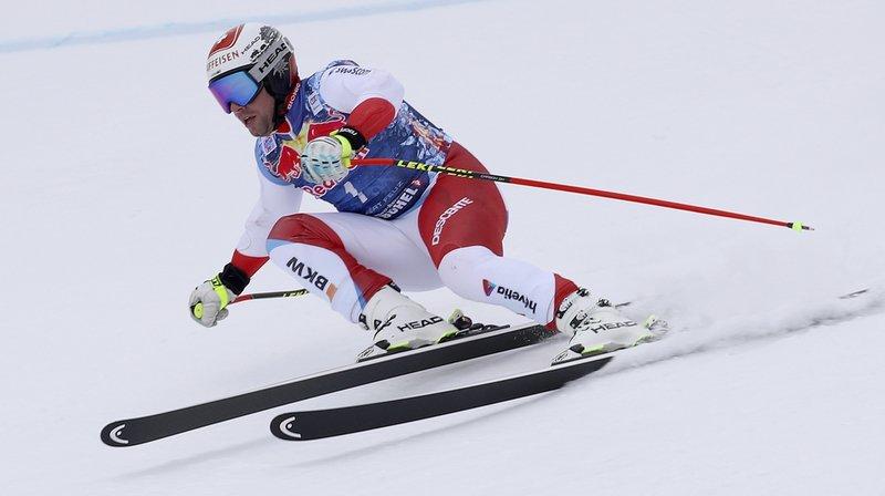 Ski alpin: Beat Feuz 6e du super-G de Kitzbühel remporté par Svindal