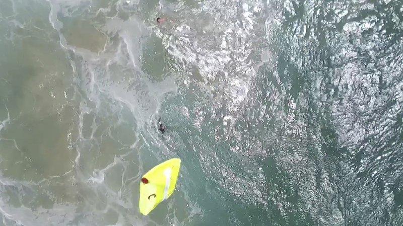 Australie: un drone sauve deux nageurs en difficulté, une première