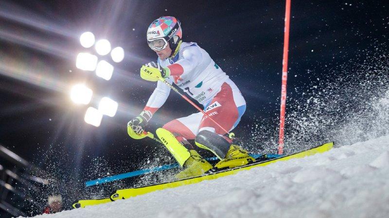 Ski alpin: Daniel Yule termine 3e du slalom de Schladming en Autriche
