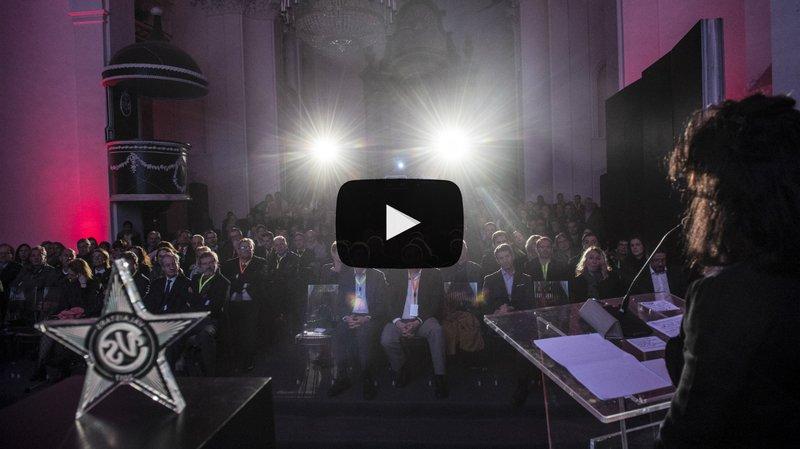 ValaiStars 2017: revivez la cérémonie de gala du Nouvelliste avec Frédéric Recrosio, un quatuor du Valaisia Brass Band et Marie-Thérèse Chappaz