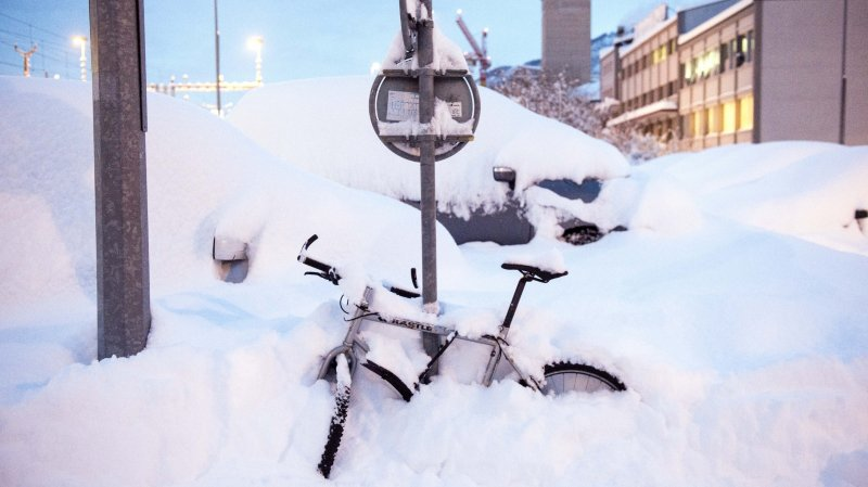 Dimanche dernier, d'importantes chutes de neige ont recouvert de blanc l'ensemble du territoire valaisan.