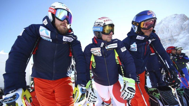 Ski alpin: souvent brisés, Feuz et Svindal sont toujours revenus au sommet