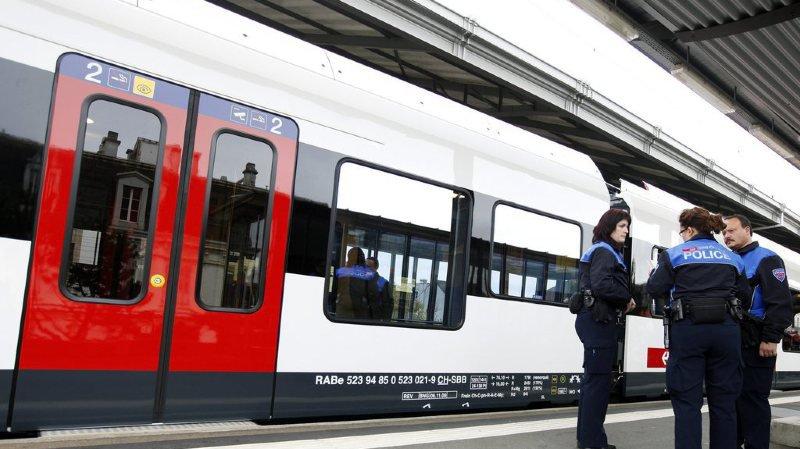 Les agents de la police ferroviaire bientôt armés de tasers ?