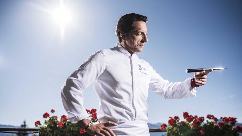 Le chef étoilé Franck Reynaud verra ses plats servis dans les avions de la compagnie Swiss jusqu'au 6 mars 2018.