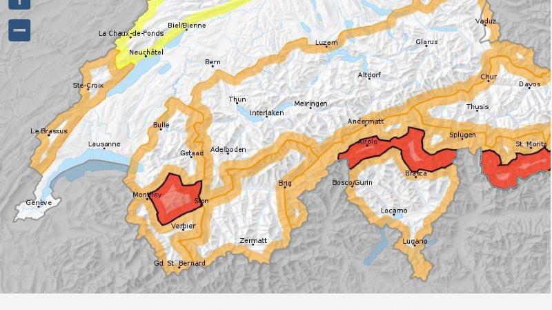 Danger d'avalanches en hausse, vers des conditions très dangereuses
