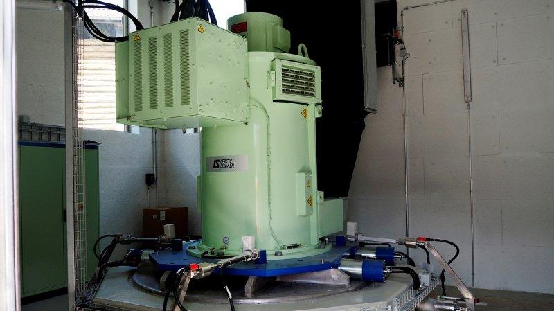 Le premier projet concret de collaboration entre Altis et la HES-SO Valais concerne les micro-turbines - celle de Profrey sur cette photo - avec des tests prévus dans le terrain dès l'année prochaine.