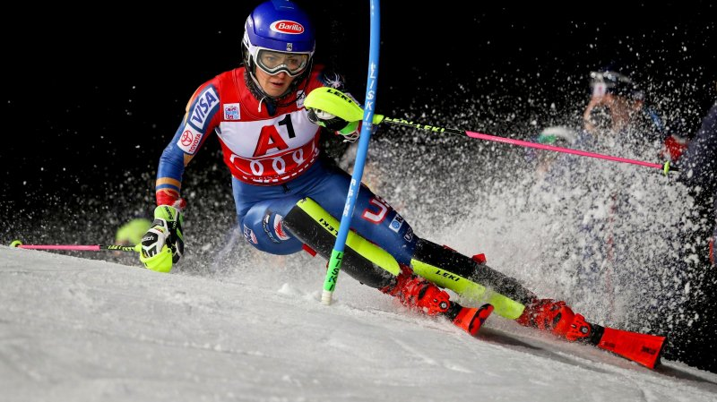 Shiffrin toujours invaincue en 2018, déception suisse