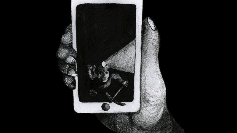 Le motif de l'affiche graphique réalisée par Louis Roh.