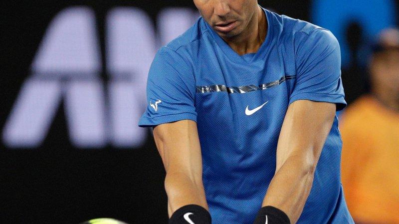 Nadal s'est imposé contre Thiem lors d'un match exhibition.