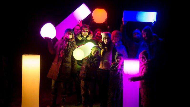 Un éclairage LED donnera une ambiance magique à l'espace du Géant.