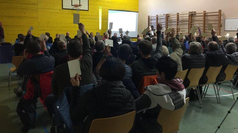 L'assemblée primaire de Nendaz était réunie mardi soir.