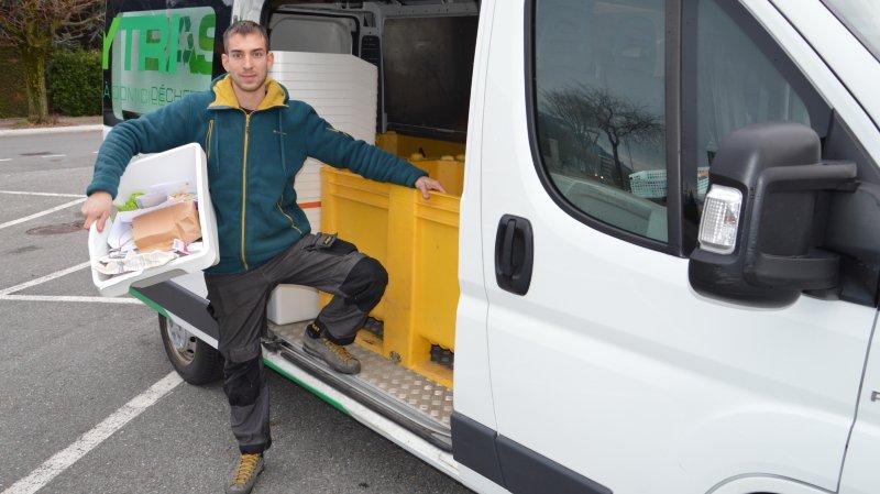 Un Martignerain se lance dans le ramassage des déchets à domicile