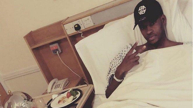 Edimilson Fernandes espère être de retour sur les terrains fin février.
