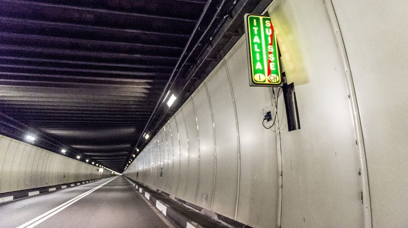 Un contrôle du système de ventilation rendra le tunnel du Grand-Saint-Bernard impraticable pendant une nuit.