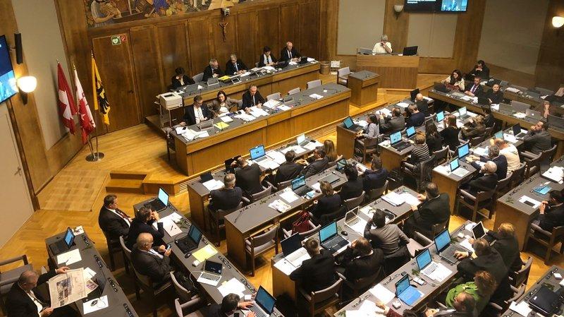 Valais: une session parlementaire qui sort de l'ordinaire