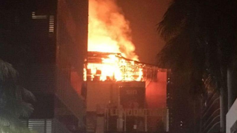 Quatorze personnes ont perdu la vie dans l'incendie d'un immeuble de Bombay.