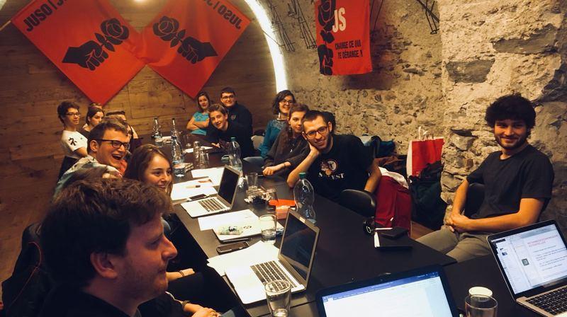 Les jeunes socialistes du Valais romand s'opposent à Sion 2026.