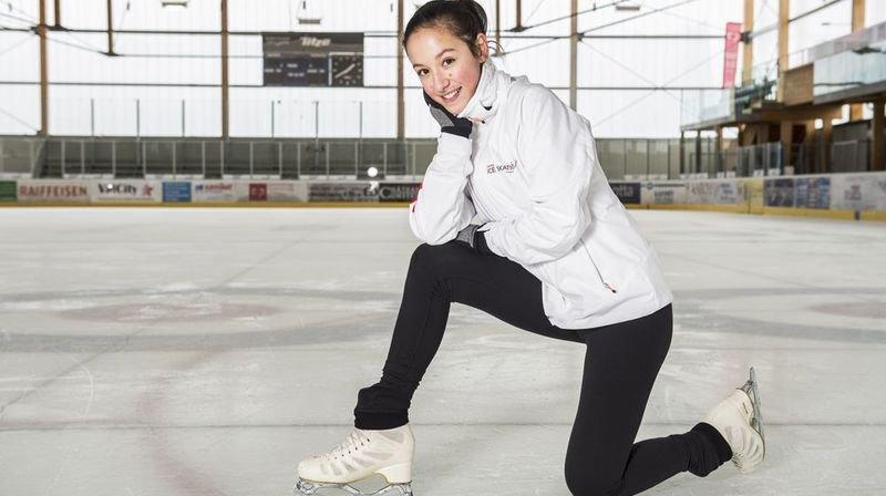 A 16 ans, la Valaisanne Yoonmi Lehmann nourrit son rêve de Jeux Olympiques au CSKA Moscou