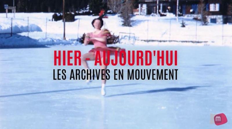 Archives en mouvement: patinage sur le Haut-Plateau