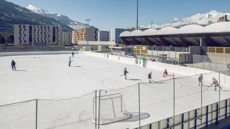 Sion: après les intempéries, la patinoire de Tourbillon est fermée temporairement