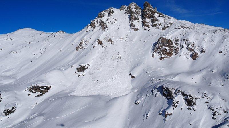 La randonneuse prise dans l'avalanche de St-Luc est décédée