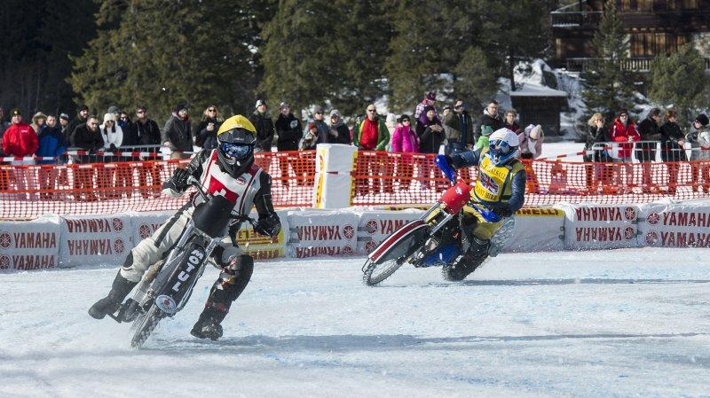 Les motos sur glace ne pourront pas, cet hiver, tourner sur le lac de Champex comme ce fut le cas en janvier dernier.