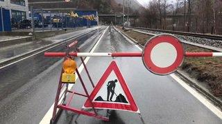Valais: plusieurs routes sont fermées dans la région de Viège à cause des intempéries