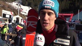 Ski alpin: réaction de Ramon Zenhäusern qui finit 4e du slalom de Wengen