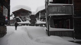 Bellwald (VS) sous la neige