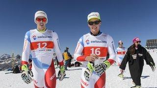 Ski alpin: Luca Aerni et Daniel Yule se sont fait un nom entre les piquets