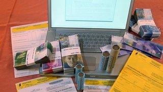 Arnaque en Valais: ils en veulent à votre déclaration d'impôt