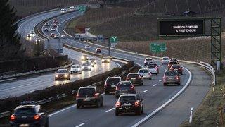 Le réseau des routes nationales devrait bénéficier de 13,5 milliards de francs d'ici à 2030.
