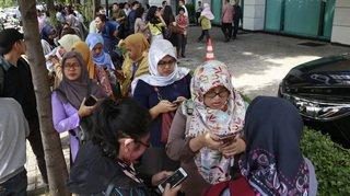 Indonésie: scènes de panique à Jakarta après un fort séisme