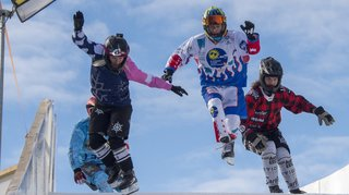 Ice cross downhill: Filipe Carvalheiro et Kevin David assurent la relève de Derek Wedge