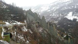 Intempéries: le Val d'Hérens en partie débloqué