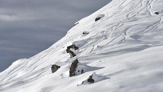 Le vent et la neige de retour en Valais