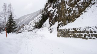 Trient: malgré la fermeture de la route de la Forclaz jusqu'en mars, l'ambiance reste sereine
