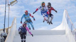 Crans-Montana: les glisseurs de l'extrême sur le Dragon de glace