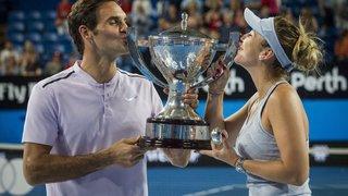 Federer et Bencic ont fait le plein  de confiance lors de la Hopman Cup