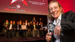 Marie-Thérèse Chappaz est  la ValaiStar 2017