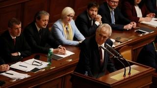 Le quitte ou double  de Milos Zeman