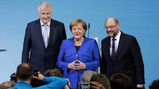 Un petit pas  vers la grande coalition