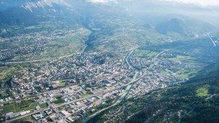 45 millions de Berne  pour l'agglo Valais central