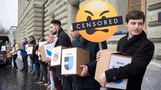 Les jeunes disent non  à la censure de l'internet