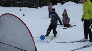 le ski de fond pour les enfants, c'est fun!