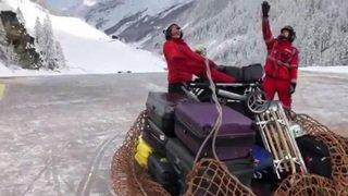 Air-Zermatt a ramené plusieurs centaines de touristes ce mercredi