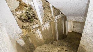 Glissement de terrain à Savièse: plusieurs mois avant que les habitants ne puissent rentrer chez eux