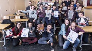 Des collégiens de Saint-Maurice se mobilisent pour inciter les jeunes à voter