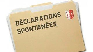 Impôts: 1,3 milliard déclaré spontanément en Valais